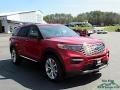 Ford Explorer Platinum 4WD Rapid Red Metallic photo #7