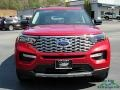 Ford Explorer Platinum 4WD Rapid Red Metallic photo #8