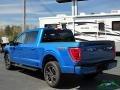 Ford F150 XLT SuperCrew 4x4 Velocity Blue photo #3