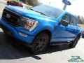 Ford F150 XLT SuperCrew 4x4 Velocity Blue photo #26