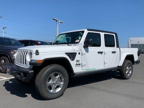 Bright White 2021 Jeep Gladiator Sport 4x4