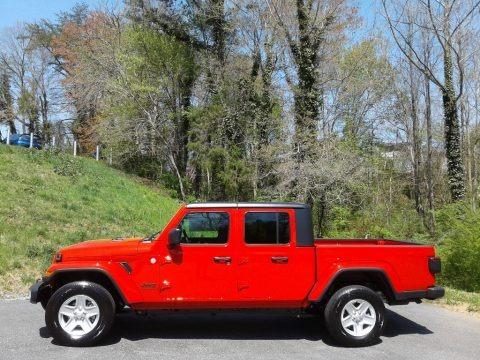 Firecracker Red 2021 Jeep Gladiator Sport 4x4
