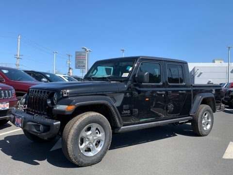 Black 2021 Jeep Gladiator Sport 4x4