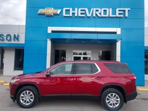 Cajun Red Tintcoat 2021 Chevrolet Traverse LT AWD