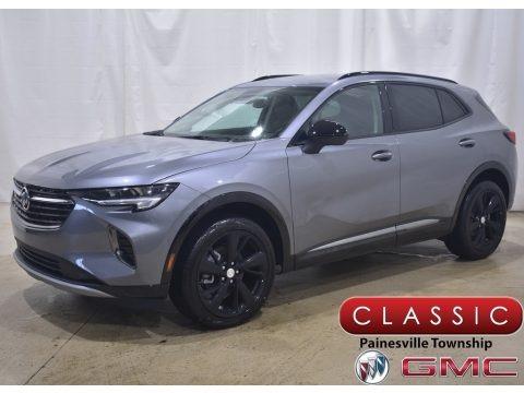 Satin Steel Metallic 2021 Buick Envision Preferred AWD