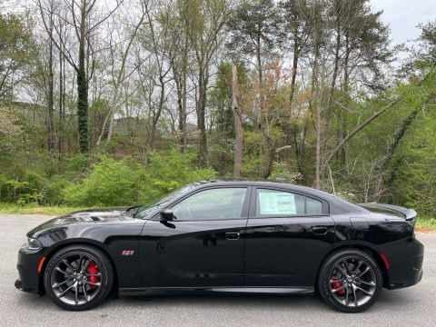 Pitch Black 2021 Dodge Charger Scat Pack