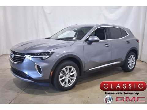 Satin Steel Metallic 2021 Buick Envision Preferred