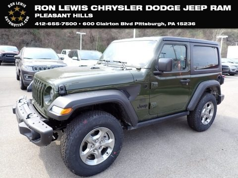 Sarge Green 2021 Jeep Wrangler Freedom Edition 4x4