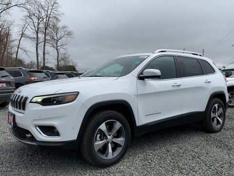 Bright White 2021 Jeep Cherokee Limited 4x4