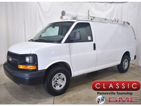 Summit White 2014 Chevrolet Express 2500 Cargo WT