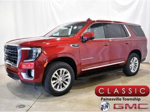 Cayenne Red Tintcoat 2021 GMC Yukon SLT 4WD