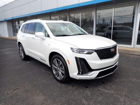 Crystal White Tricoat 2021 Cadillac XT6 Premium Luxury AWD