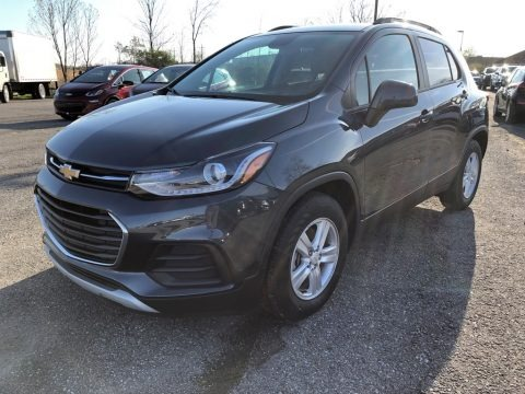 Shadow Gray Metallic 2021 Chevrolet Trax LT
