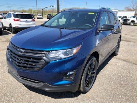 Pacific Blue Metallic 2021 Chevrolet Equinox LT AWD