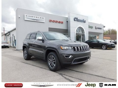 Granite Crystal Metallic 2021 Jeep Grand Cherokee Limited 4x4
