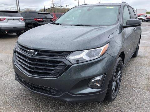 Nightfall Gray Metallic 2021 Chevrolet Equinox LT