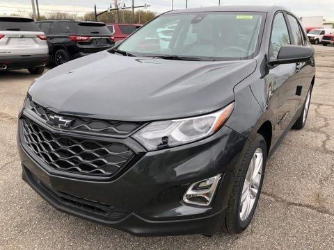 Nightfall Gray Metallic 2021 Chevrolet Equinox LS