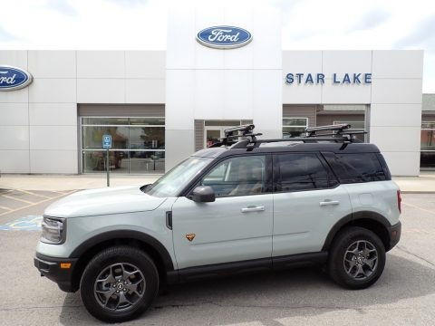 Cactus Gray 2021 Ford Bronco Sport Badlands 4x4