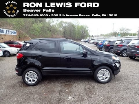 Shadow Black 2021 Ford EcoSport SE