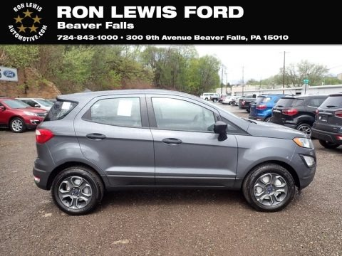 Smoke Metallic 2021 Ford EcoSport S