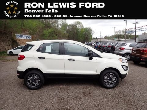 Diamond White 2021 Ford EcoSport S