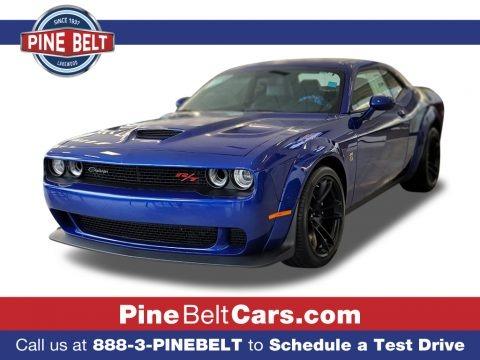 Indigo Blue 2021 Dodge Challenger R/T Scat Pack Widebody