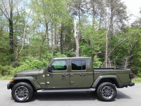 Sarge Green 2021 Jeep Gladiator Overland 4x4