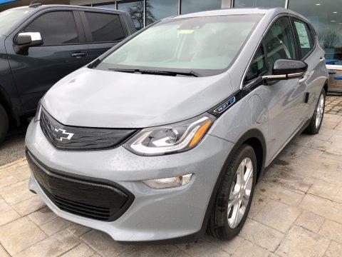 Slate Gray Metallic 2021 Chevrolet Bolt EV LT