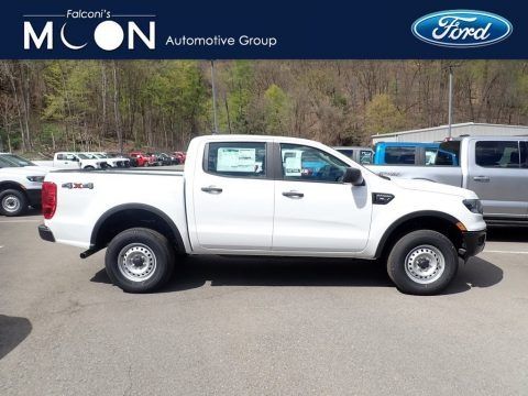 Oxford White 2021 Ford Ranger XL SuperCrew 4x4