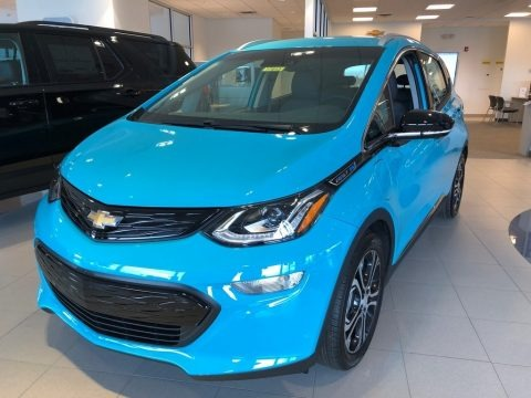 Oasis Blue 2020 Chevrolet Bolt EV Premier