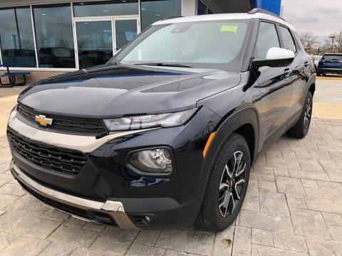 Midnight Blue Metallic 2021 Chevrolet Trailblazer ACTIV