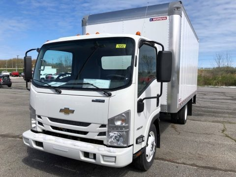 Arctic White 2021 Chevrolet Low Cab Forward 4500 Moving Truck