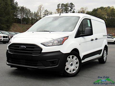 Frozen White 2021 Ford Transit Connect XL Van