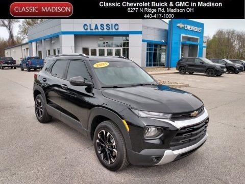 Mosaic Black Metallic 2021 Chevrolet Trailblazer LT AWD