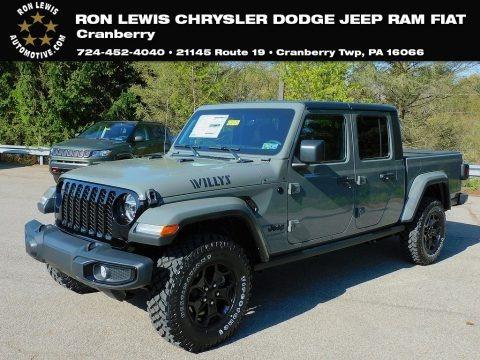 Sting-Gray 2021 Jeep Gladiator Willys 4x4