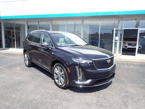 Dark Moon Blue Metallic 2021 Cadillac XT6 Premium Luxury