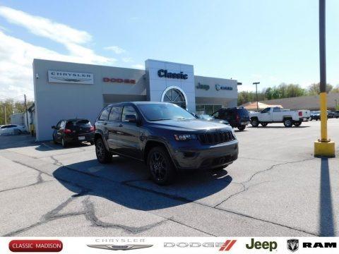 Granite Crystal Metallic 2021 Jeep Grand Cherokee Limited 4x4