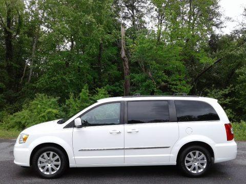 Bright White 2014 Chrysler Town & Country Touring