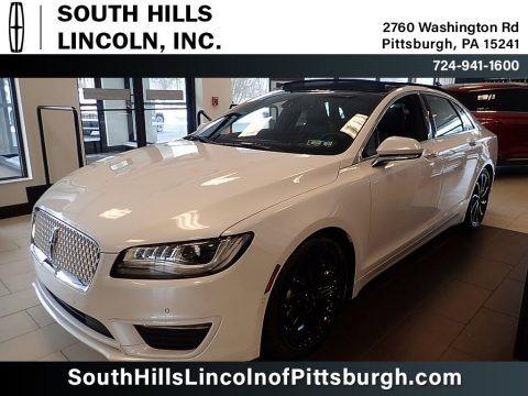 White Platinum 2020 Lincoln MKZ Reserve AWD