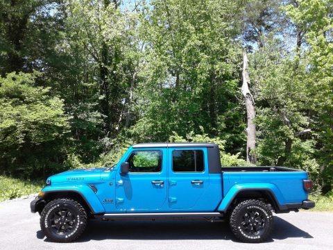 Hydro Blue Pearl 2021 Jeep Gladiator Willys 4x4