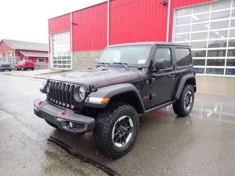 Black 2021 Jeep Wrangler Rubicon 4x4