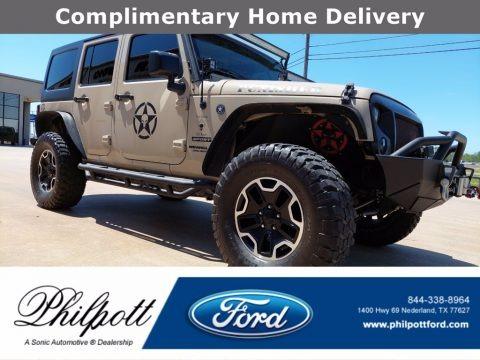 Mojave Sand 2016 Jeep Wrangler Unlimited Sport 4x4