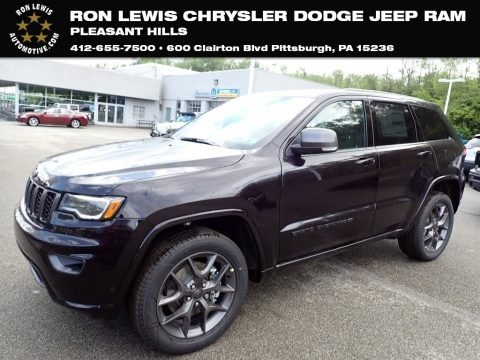 Sangria Metallic 2021 Jeep Grand Cherokee Limited 4x4