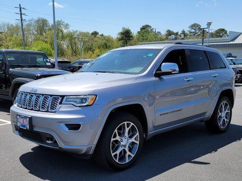 Billet Silver Metallic 2021 Jeep Grand Cherokee Overland 4x4