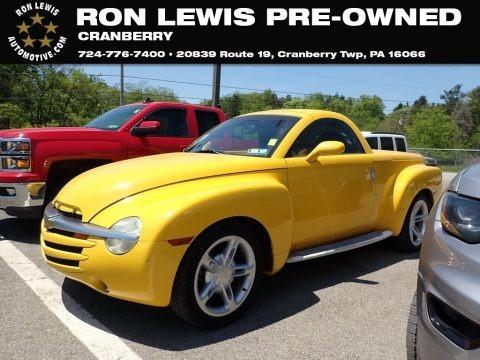 Slingshot Yellow 2004 Chevrolet SSR LS