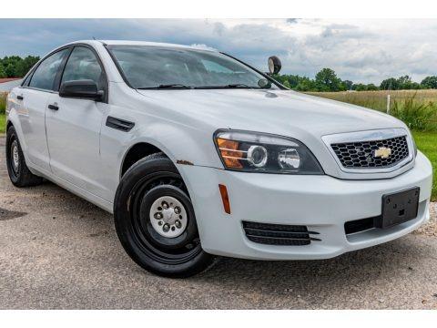 White 2014 Chevrolet Caprice Police Sedan