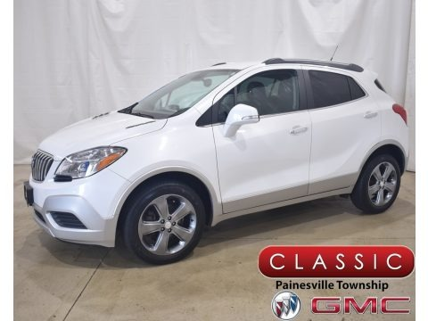White Pearl Tricoat 2014 Buick Encore AWD