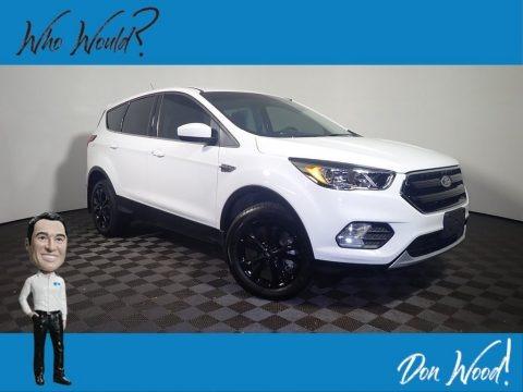 Oxford White 2019 Ford Escape SE 4WD
