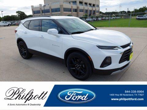 Summit White 2019 Chevrolet Blazer 2.5L Cloth