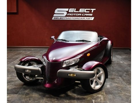 Prowler Purple 1999 Plymouth Prowler Roadster